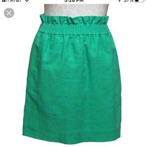 J. Crew Skirts - J. Crew Sidewalk Linen Skirt